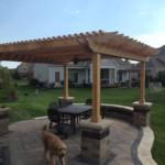 Backyard Pergola Installation and Landscaping Services