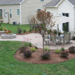 Landscape planting services in Central Ohio
